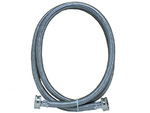 Washer Fill Hose 4' Stainless Steel